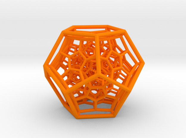 120-Cell 3d printed