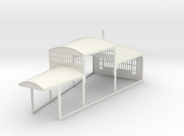 z-160-roundhouse-15-deg-mid-section-1 in White Natural Versatile Plastic