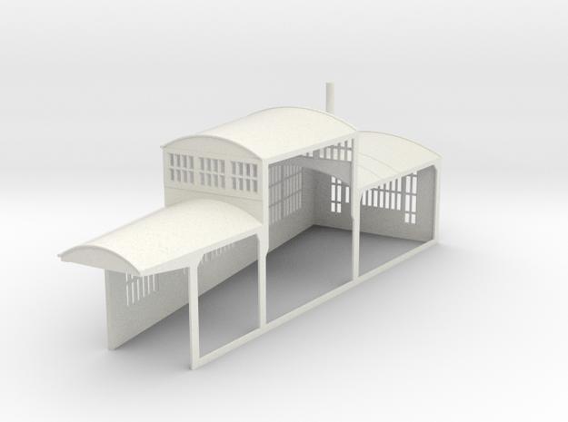 z-160-roundhouse-10-deg-left-side-section-1 in White Natural Versatile Plastic
