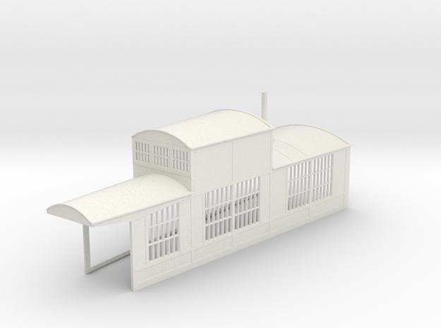 z-160-roundhouse-9-deg-right-side-section-open-1 in White Natural Versatile Plastic