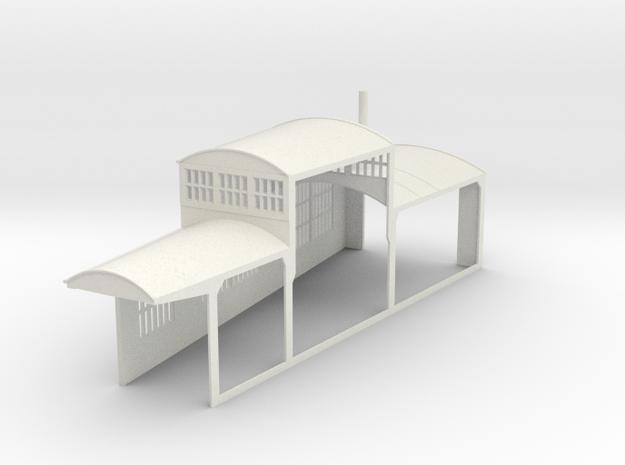 z-160-roundhouse-10-deg-left-side-section-open-1 in White Natural Versatile Plastic