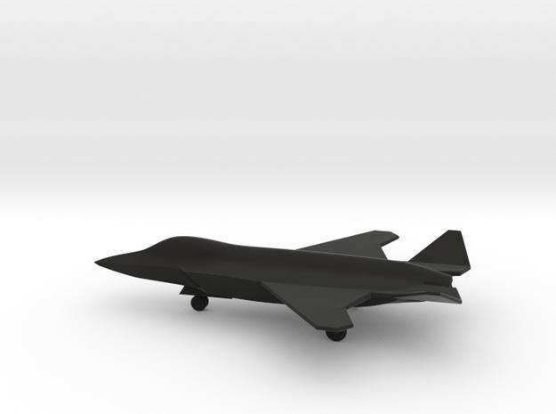 McDonnell Douglas/Northrop/BAE JSF w/Landing Gear in Black Natural Versatile Plastic: 1:200