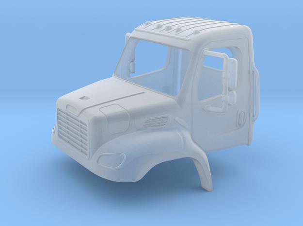 Freightliner 2 Door Open Window Cab 1-64 Scale in Smooth Fine Detail Plastic