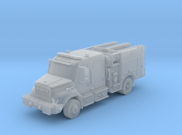 Freightliner Wildland Brush Truck Parted 1-64 Scal in Smooth Fine Detail Plastic
