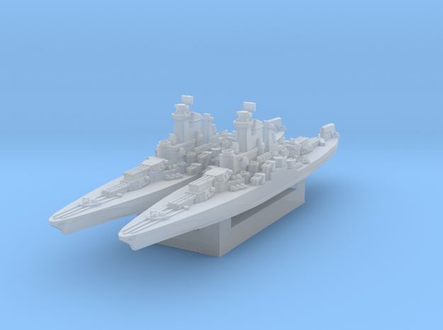 USS Tennessee 1945 1/3000 in Smooth Fine Detail Plastic