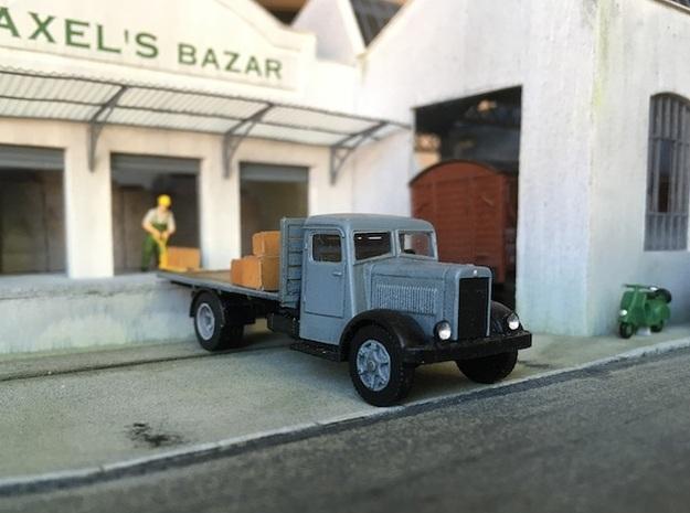 1:87 Berliet GDR 1936-1949 in Smooth Fine Detail Plastic