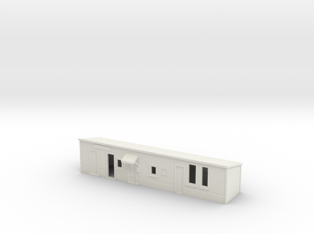 CountryStation  in White Natural Versatile Plastic
