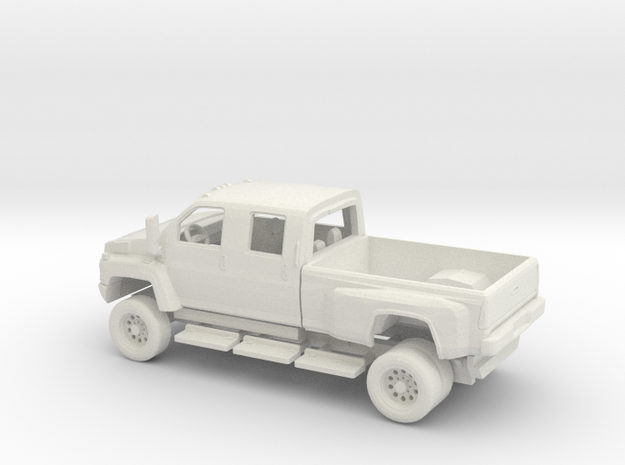 1/72 GMC Topkick Kit in White Natural Versatile Plastic