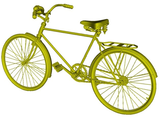 1/18 scale WWII Wehrmacht M30 bicycle x 1