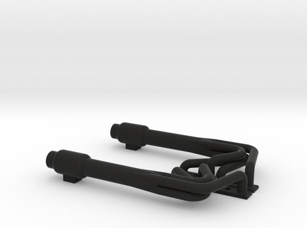 410 Sprint car Headers in Black Natural Versatile Plastic