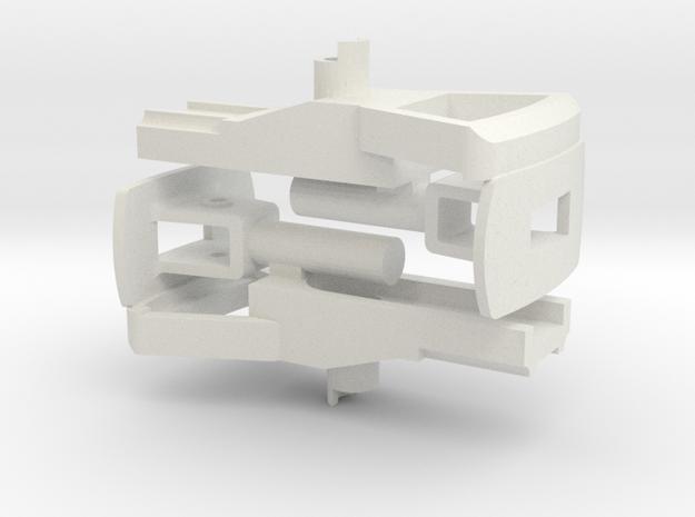 CFF Trichterkupplung mit Deichsel in White Natural Versatile Plastic