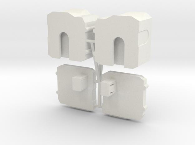 Predaking Upgrade Kit V2.1--THIGHS ONLY in White Natural Versatile Plastic