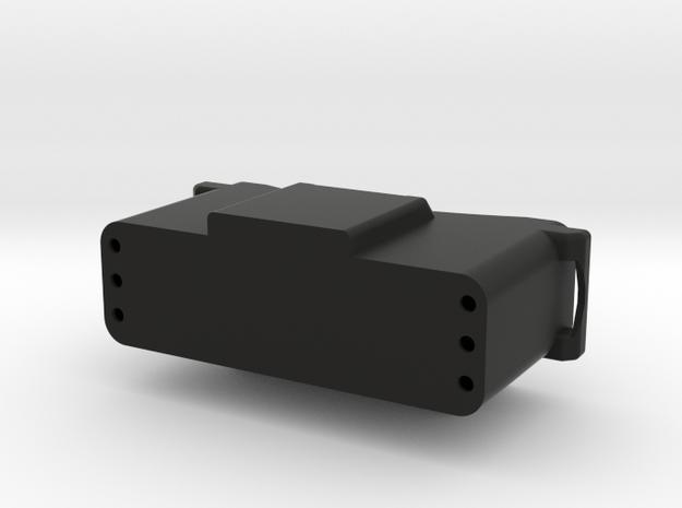 Front Box in Black Natural Versatile Plastic