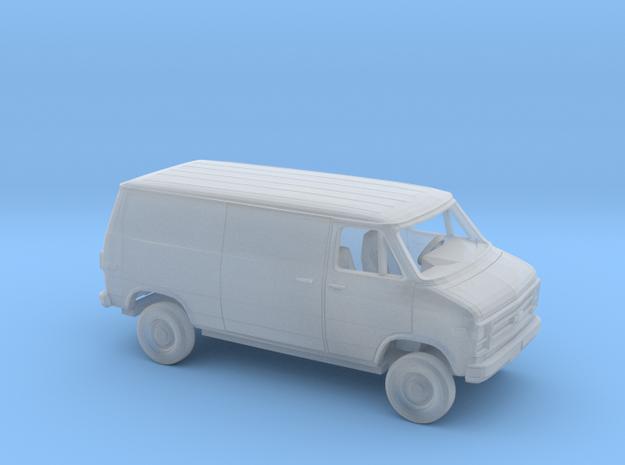 1/160 1979-83 Chevy G Van Sliding Side HatchRear D in Smooth Fine Detail Plastic