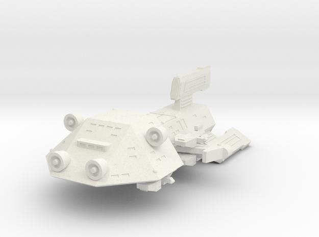 3125 Scale Kzinti Medium Gunboat/PF Tender SRZ in White Natural Versatile Plastic