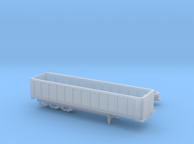 1:160 N Scale 35' East 3-Axle Dump Trailer in Smooth Fine Detail Plastic