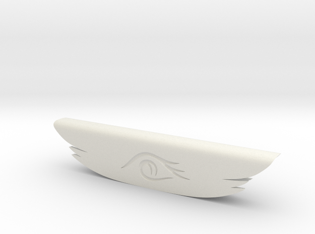 Tribal Eye Webcam Cover (X1 Extreme) in White Natural Versatile Plastic