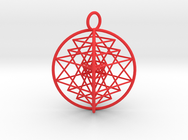 3D Sri Yantra Optimal 3d printed
