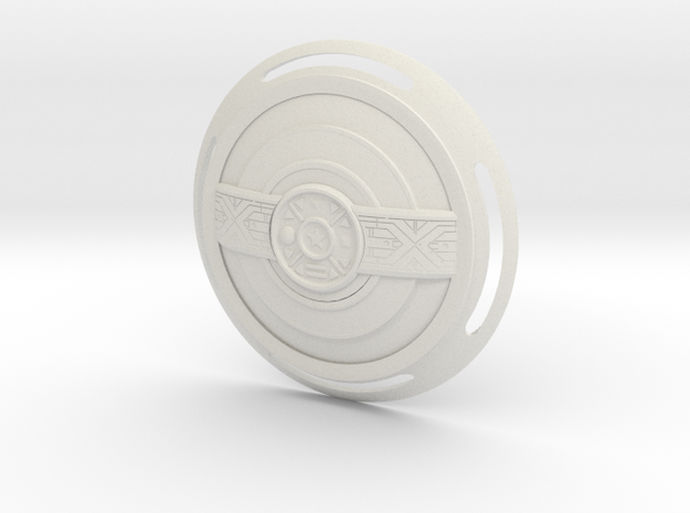 Zeo 1 Weapon - Legacy in White Natural Versatile Plastic