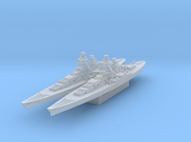 Alsace battleship 1/3000 in Smooth Fine Detail Plastic