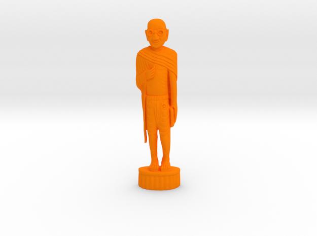 Gandhi Wood in Orange Processed Versatile Plastic: Medium