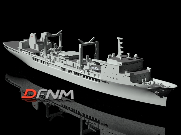HMAS Success (II) in White Natural Versatile Plastic: 1:700