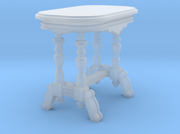 1:48 Nob Hill Side Table in Smooth Fine Detail Plastic