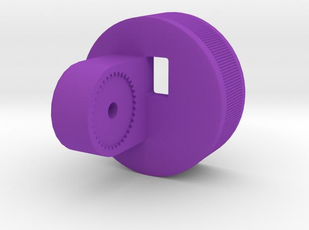 Nalgene 500ml mount GEN4 in Purple Processed Versatile Plastic