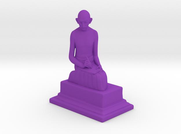 Ivory Gandhi v2 in Purple Processed Versatile Plastic: Medium