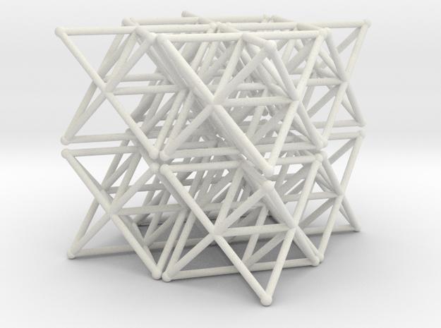 tetstar8 in White Natural Versatile Plastic