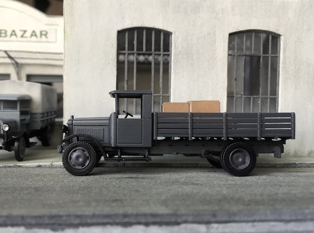 1:87 Berliet CBAc 1928-1932 in Smooth Fine Detail Plastic