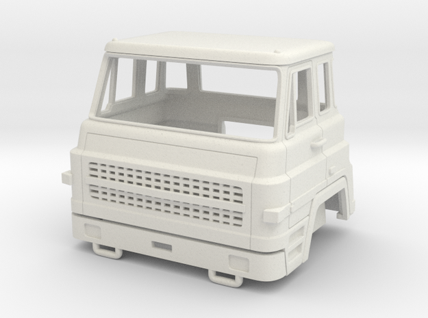 Dodge Barreiros C-38 1:50 in White Natural Versatile Plastic