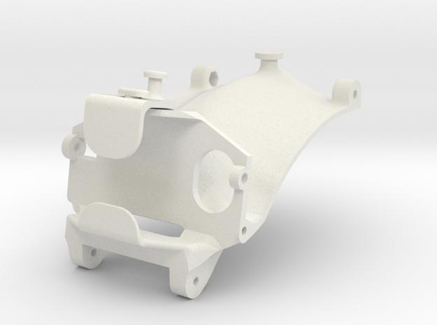 2.2M ventru-SKIDLESS part in White Natural Versatile Plastic