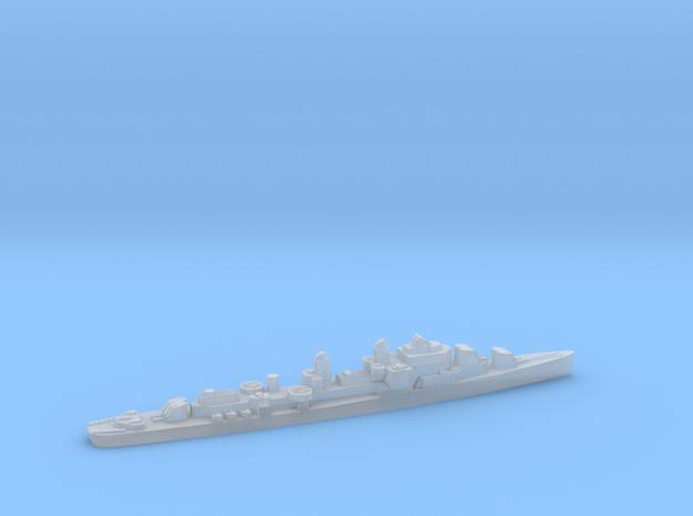 USS Bristol destroyer 1944 1:1800 WW2 in Smoothest Fine Detail Plastic