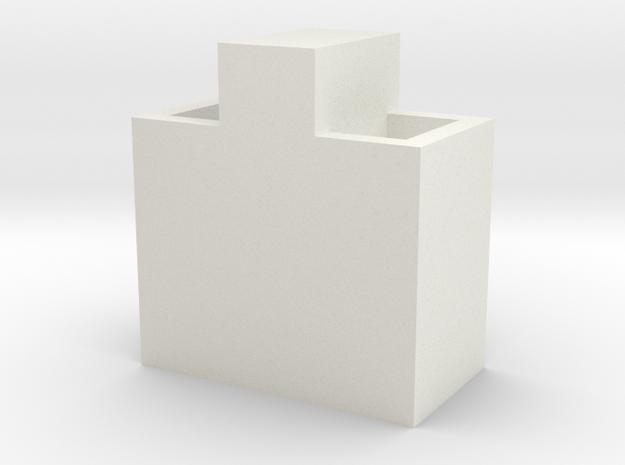 1/64 cattle waterer  in White Natural Versatile Plastic