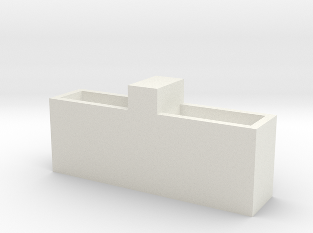 1/64 cattle waterer  double  in White Natural Versatile Plastic