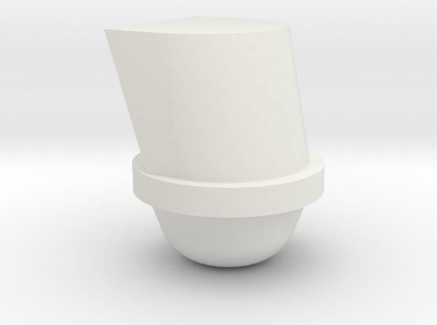 1/64 rocky mineral feeder in White Natural Versatile Plastic
