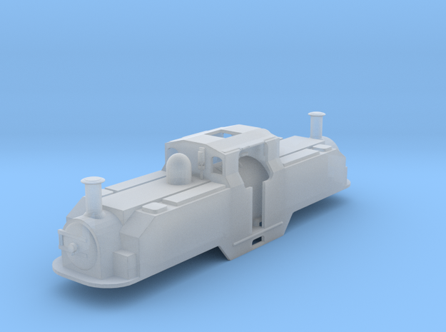 FR double fairle loco Earl of Merioneth (original) in Smooth Fine Detail Plastic
