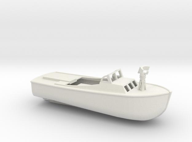 1/96 Scale 36 ft LCP(L) Mk 2 USN in White Natural Versatile Plastic