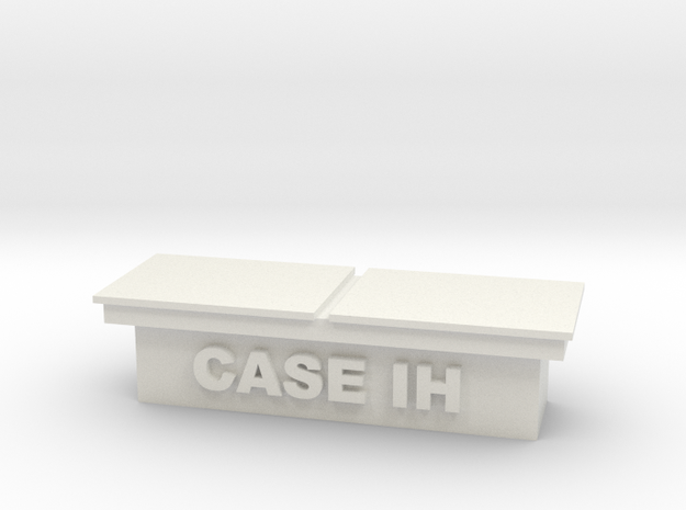 Truck toolbox - Case-IH in White Natural Versatile Plastic