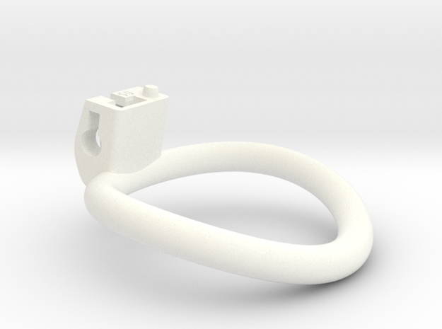 Cherry Keeper Ring - Circular - Multiple Sizes in White Processed Versatile Plastic: Extra Large