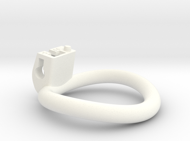 Cherry Keeper Ring - 44mm -5° in White Processed Versatile Plastic