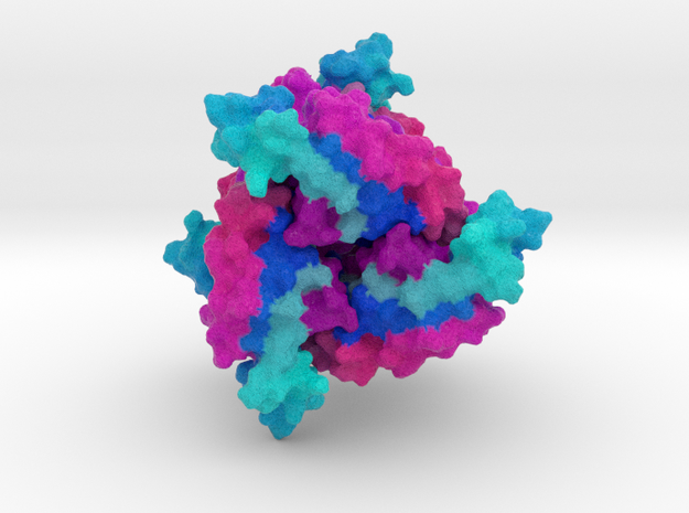 6-Pyruvoyl Tetrahydropterin Synthase in Natural Full Color Sandstone