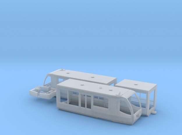 Vogtlandbahn Regiosprinter in Smooth Fine Detail Plastic: 1:120 - TT