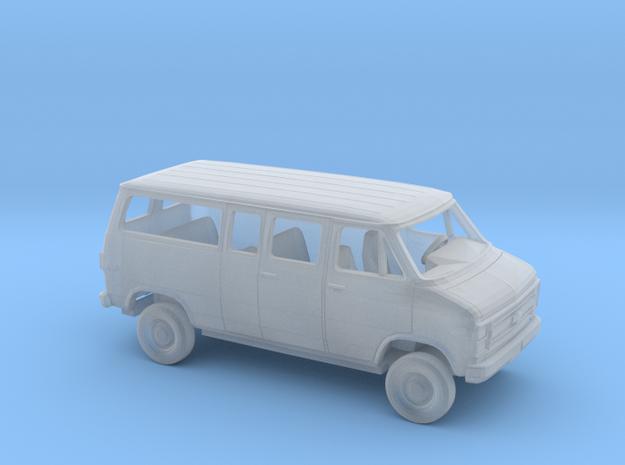 1/160 1984  Chevy G Van Split Side and Rear Door in Smooth Fine Detail Plastic