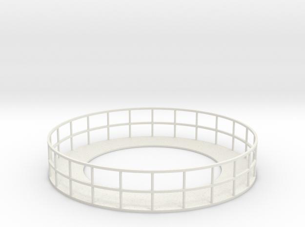 Walkway 4 - HOscale in White Natural Versatile Plastic