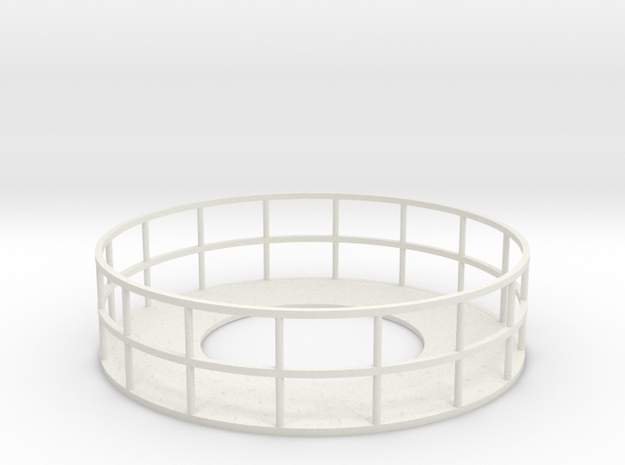 Walkway 1 - HOscale in White Natural Versatile Plastic