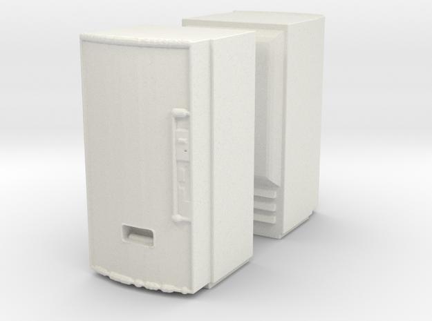 Soda machine (x2) 1/100 in White Natural Versatile Plastic