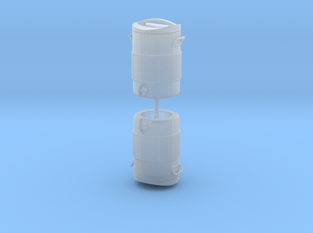1/24 scale 5 gallon water cooler jug in Smoothest Fine Detail Plastic: Small