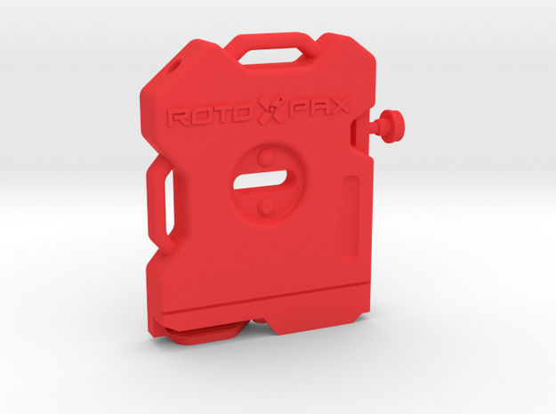 RotoPax Scale Gas Can 1:10 in Red Processed Versatile Plastic: 1:10
